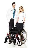 personal injury wheelchair doctor nurse compensation claims